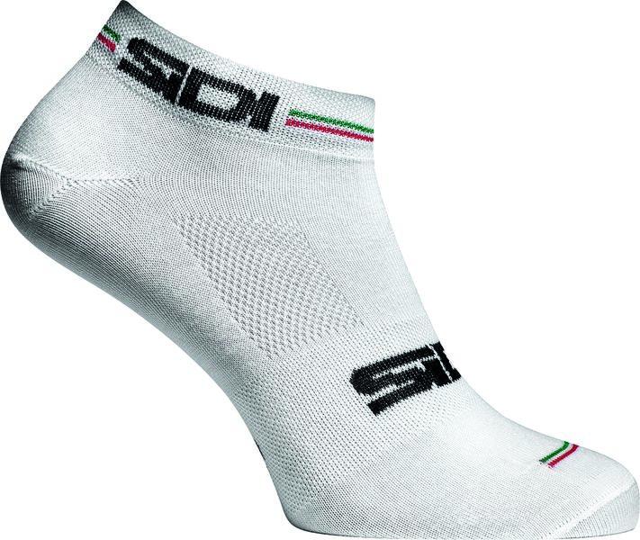 Sidi Ghost Socks CoolMax - weiß/tricolore - 35-39 - radschlag - Fahrradladen Ladengeschäft und Online Shop in Chemnitz - Fahrräder und Fahrradzubehör