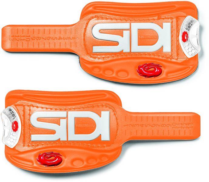 Verschluss SIDI Soft Instep 3 - orange/weiß - radschlag - Fahrradladen Ladengeschäft und Online Shop in Chemnitz - Fahrräder und Fahrradzubehör