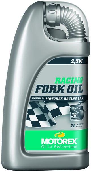 Motorex Racing Fork Oil 2,5W - 1L - Rad & Dämpferklinik GmbH
