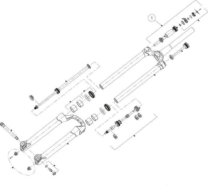 """Druckstufe Manitou Mattoc Pro 26"""" und 27.5"""" - Rad & Dämpferklinik GmbH"""