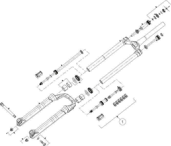 LUFTKOLBENEINHEIT MANITOU MATTOC PRO 3 29+ 110 BOOST - Rad & Dämpferklinik GmbH