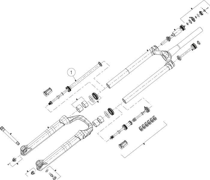 ZUGSTUFE MANITOU MATTOC 3 PRO  29+ 110 BOOST 120MM - 120 mm - Rad & Dämpferklinik GmbH