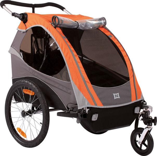 Burley Kombi-Verdeck D´LITE 2012 Tangerine - orange - radschlag - Fahrradladen Ladengeschäft und Online Shop in Chemnitz - Fahrräder und Fahrradzubehör
