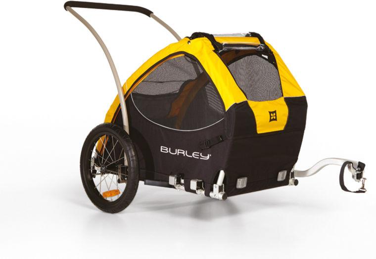 Burley TAIL WAGON  - gelb - radschlag - Fahrradladen Ladengeschäft und Online Shop in Chemnitz - Fahrräder und Fahrradzubehör