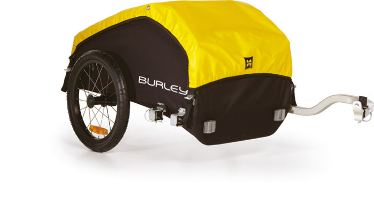 Burley NOMAD  - gelb/schwarz - radschlag - Fahrradladen Ladengeschäft und Online Shop in Chemnitz - Fahrräder und Fahrradzubehör