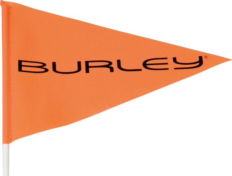 Sicherheitsflagge BURLEY - orange - radschlag - Fahrradladen Ladengeschäft und Online Shop in Chemnitz - Fahrräder und Fahrradzubehör