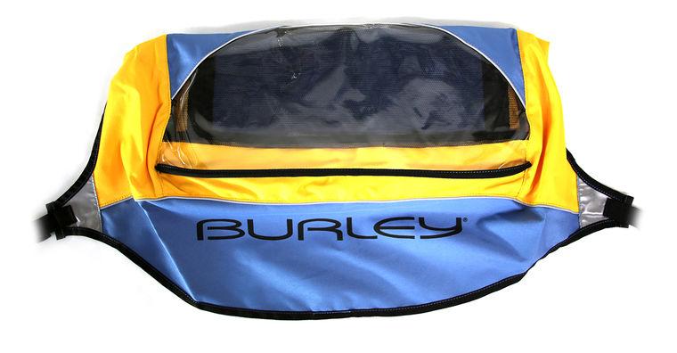 Burley Sonnen/Regenverdeck SOLO ST 2009 - gelb/blau - radschlag - Fahrradladen Ladengeschäft und Online Shop in Chemnitz - Fahrräder und Fahrradzubehör