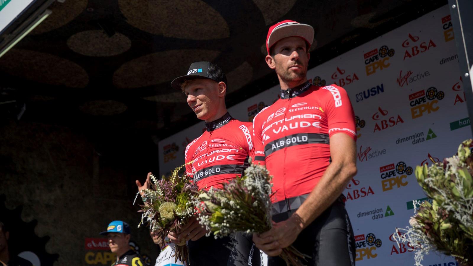 Cape Epic 2017 Stage 3: TEAM CENTURION VAUDE on the podium again