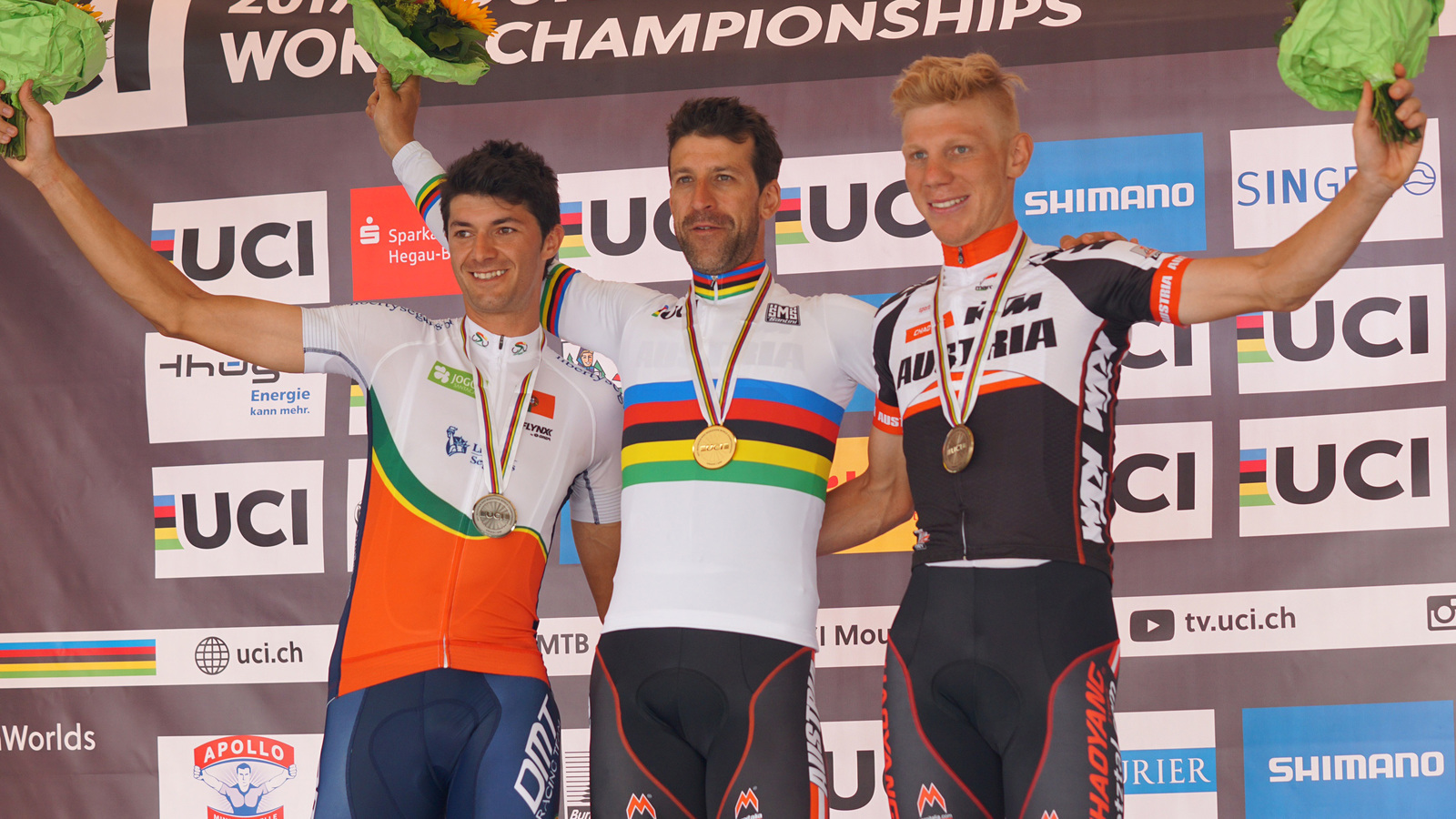 Bronze medal for Daniel Geismayr and top results for the rest of the CENTURION VAUDE Team