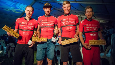 The 2016 Cape Epic Sensation: 2nd Place for TEAM CENTURION VAUDE