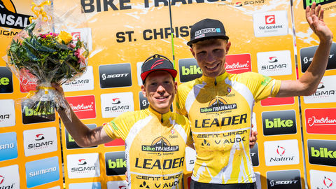 BIKE Transalp – Third stage victory in a row