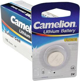 Knopfzellen 3V CR 2025