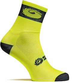 Socken Logo yellow/black