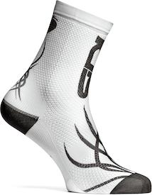 Fun Socks white/black