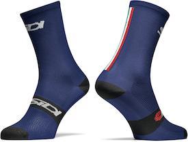 Socken Trace blue/black