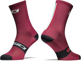 Socken Trace burgundy/black