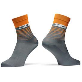 Socken Miami grey/orange