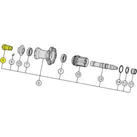 Endkappen für QR/Schnellspanner