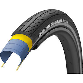 City-Reifen Transit Tour Tubeless Complete 28""