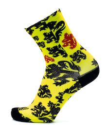 Socken Flanders Edition Yellow Lions
