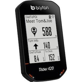 GPS-Fahrradcomputer Rider 420
