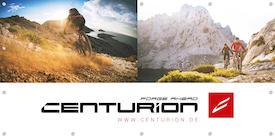 CENTURION Werbebanner Mountainbike