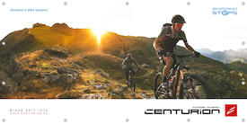 CENTURION Werbebanner E-MTB - Shimano e-Bike Systems