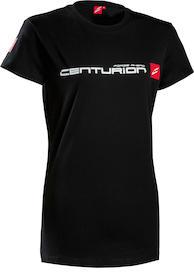 T-Shirt CENTURION Damen schwarz Logo-Edition