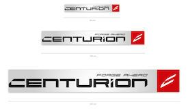 Aufkleber CENTURION Logo