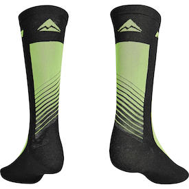 Socken ROAD Design Lang schwarz/grün