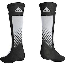 Socken ROAD Design Lang schwarz/grau