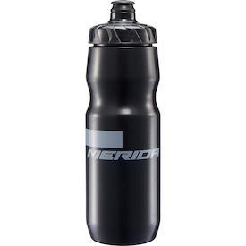 Trinkflasche Stripe schwarz/grau