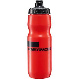 Trinkflasche Stripe rot/schwarz