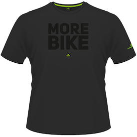 T-Shirt MORE BIKE Edition schwarz