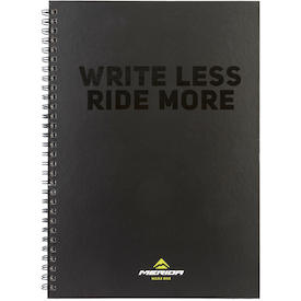 Notizbuch Write Less Ride More