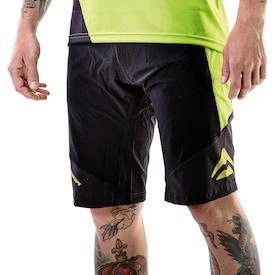 Shorts Freeride Triangle Herren schwarz/grün