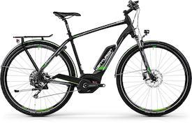 E-Fire Sport R2500 2018 matt-schwarz/grau/grün