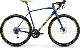 Crossfire Gravel 3000 2018 navy blau/lime