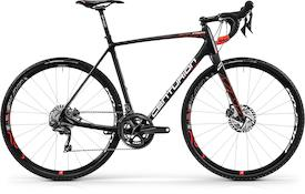 Crossfire Carbon 4000 2018 carbon/neon-rot/weiß