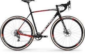 Crossfire Carbon Team 2018 carbon/neon-rot/weiß