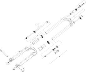 Zugstufe Mattoc Pro 26/27.5 Zoll Boost