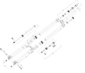 Verstellknopfkit Druckstufe Mattoc, Mattoc 3, Magnum