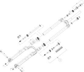 Luftkolbeneinheit Mattoc 3 Pro 29+ 110mm Boost