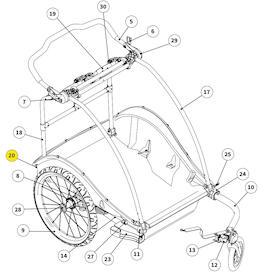 Bremse für Cub X Zweisitzer ab 2019